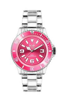 ICE-Watch Pure Women's Quartz Watch with Pink Dial Analogue Display and Transparent Plastic Bracelet PU.PK.S.P.12 £20.63 @ Amazon