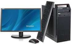 "Lenovo Thinkcentre Edge 73 + 23"" Monitor & accessories  for £339.97 (after £100 cashback) @ Saveonlaptops"