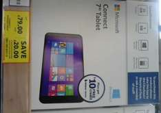 Connect Windows 8.1 7ins Tablet - £79 instore @ Tesco