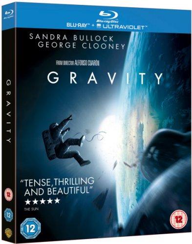 Gravity Blu ray new for £6.99 @ Zavvi