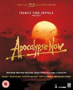 Apocalypse Now 3 Disc Bluray special edition reduced further to £9.49 at Zavvi (£8.54 with code)