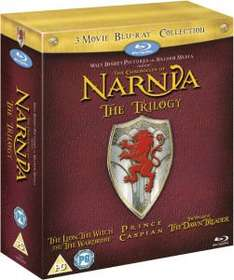 Chronicles of Narnia Trilogy on Bluray back in stock at Zavvi at £9.99 (£8.99 with code)