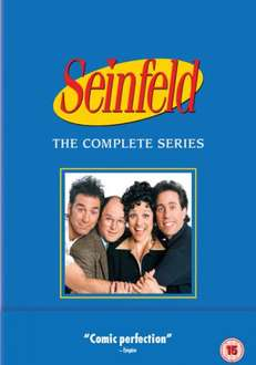 Seinfeld: The Complete Series 1-9 Box Set DVD £65.69 with code @ Zavvi