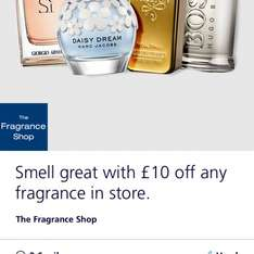 Fragrance Shop £10 off (no minimum spend) deal is back with o2 Priority