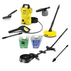 Karcher K2 Compact with Accessories.including the Karcher Under Chassis Car Cleaner £157.98 @ Idealworld tv