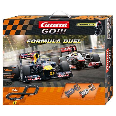 Carrera Go!!! Formula Duel Racing Set - now down to £29.99! John lewis