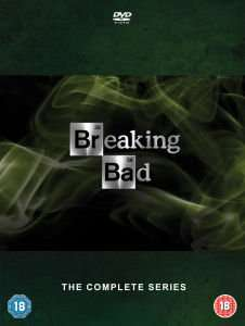 Breaking Bad Complete Collection DVD + UV £37.99 (£34.19 with code) @ Zavvi