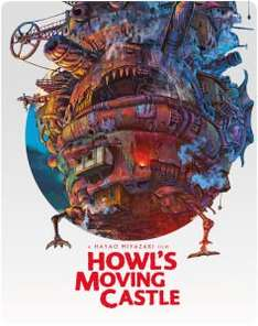 Howls Moving Castle, blu ray steelbook. Zavvi £10.99. Other ghibli titles also