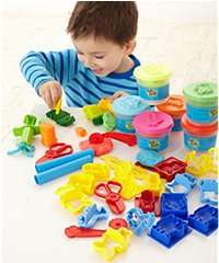 Soft Stuff Bumper Tool and Dough Set - £12.50 ELC DEAL OF THE DAY