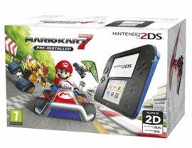 Nintendo 2DS with Mario Kart + Pokemon AS/OR + Pikachu Folio Kit + Free Game £129.99 @ Game