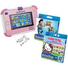 Vtech Innotab 3S Pink with Battery Pack and Two Games RRP £139.99 now £79.99! - Until 10am tomorrow only - The Entertainer