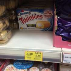 TWINKIES!! at Tesco for £5