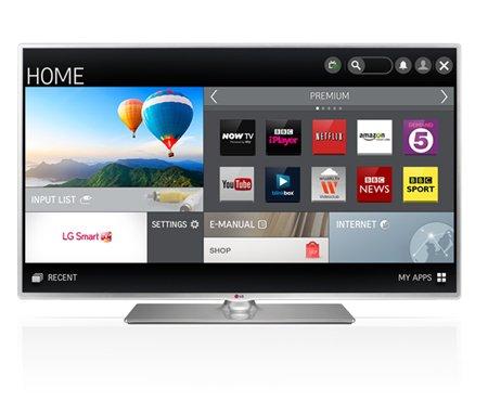 LG 39LB580V 39-inch Widescreen 1080p Full HD Wi-Fi Smart TV with Freeview HD £349 @ TESCO