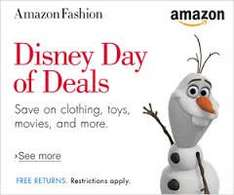 Today only, save up to 30% on selected Disney products. @ Amazon