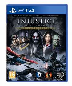 Injustice gods among us\ultimate edition free PS4 Ps+ needed @ PSN