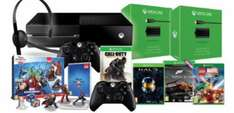 Xbox One Console With Extra Controller, 2x Play & Charge Kits, CoD:  Advanced Warfare, Forza 5 GOTY, Lego Marvel Super Heroes, Halo MCC & Disney Infinity 2.0 £427.97 @ Game (Nationwide)
