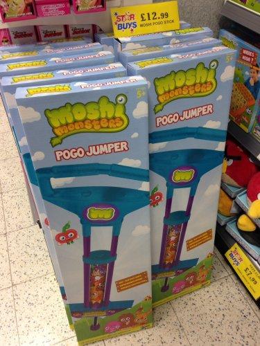 Moshi Monster Pogo Jumper/Stick £12.99 (Was £19.99) @ Home Bargains Instore or Online