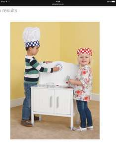 Plum Oxford Wooden Role Play Kitchen with Accessories £31.99 @ Amazon