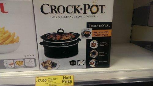 Crock Pot 3.5ltr Slow Cooker £17 at Tesco