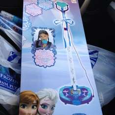 FROZEN MICROPHONE AND STAND @ B&M £11.99