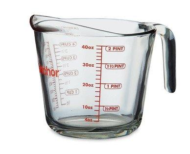 Glass 1 litre measuring jug £2.99 @ Aldi from Sunday 7th Dec