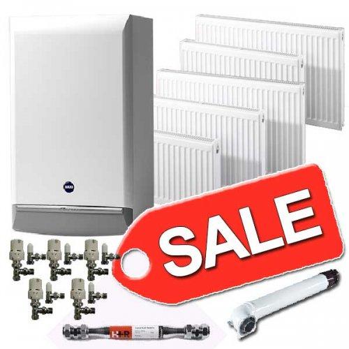 Baxi Boiler 7years warranty, 5 radiators + valves £893 @ Mr central heating