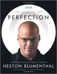 In Search of Perfection: Reinventing Kitchen Classics by Heston Blumenthal Hardcover £5  (Free Del £10 order / Prime) @ Amazon (in stock 9 Dec)