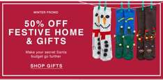 50% off selected  gifts at urban outfitters