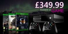 Xbox One Console w/ COD AW + Forza 5 GOTY (Download) + Halo Master Chief Collection + Extra Controller - £349.99 - @ Game
