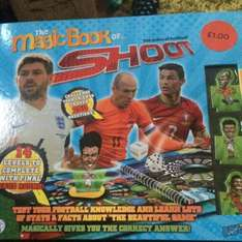 The magic book of.. (Shoot, sponge bob, teenage mutant turtles) £1 @ Sainsbury's