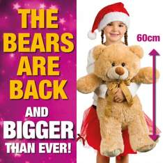 Spend £5 in store and buy teddy bear for £5! at Poundland