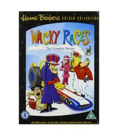 Wacky Races complete collection 3 dvds, 34 episodes Amazon £8.00 plus postage or £2 spend for free delivery @ Amazon
