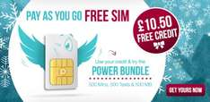 Free sim card & £10.5 credit for free @ the peoples operator