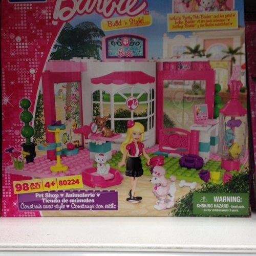 Home Bargains Mega Bloks Barbie Build n Style Pet Shop £6.99