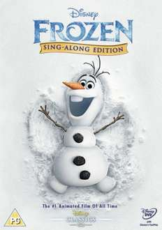 Frozen Sing-a-Long Edition DVD = £10.98 delivered @ TheHut