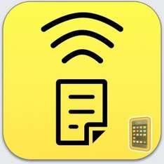 Air Scanner: Wireless Remote HD Camera/Projector App for iPhone Was £2.99 Now FREE