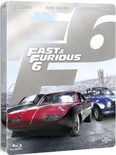 Fast and Furious 6 - Limited Edition Steelbook (Blu-ray) = £6.99 delivered @ Zavvi