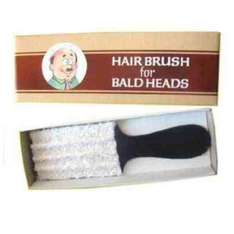 GREAT STOCKING FILLER FOR PEOPLE IN NEED ;) Hair Brush for Bald Heads £3.99 @ MagicNevin / Amazon