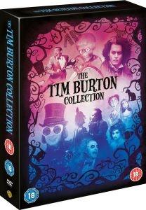 Box Set The Tim Burton Collection 8 Discs DVD & Trivia Book only £11.99 @ zavvi.com plus 2.6%TCB