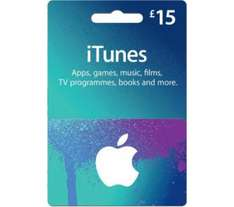 £15 Itunes card for £12.75 @ Currys - Web Exclusive
