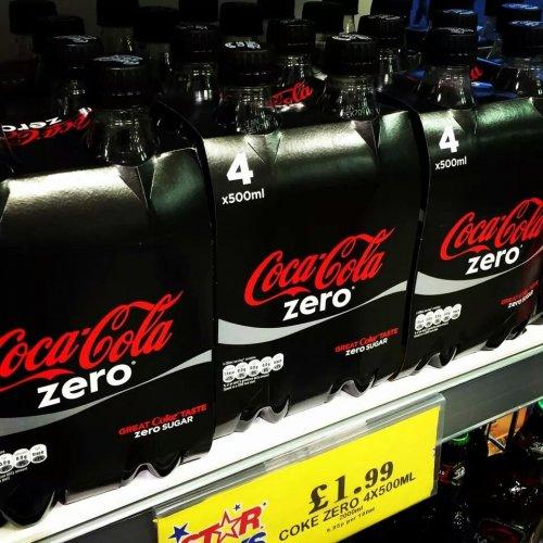 Coke zero 4X500ml £1.99 @ home bargains
