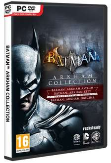 Batman Arkham Trilogy PC DVD @ GAME £15.00 +3% Quidco (4% if using PayPal)