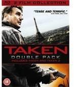 Taken 1&2 Blu Ray Double pack £8.49 del. @ Wow HD