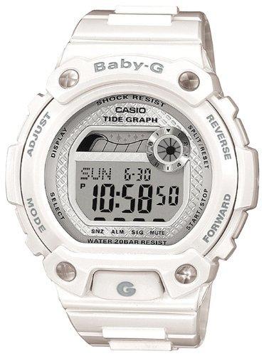 Casio BLX-100-7ER Ladies Watch Quartz Digital White Dial White Resin Strap £23.37 at Amazon