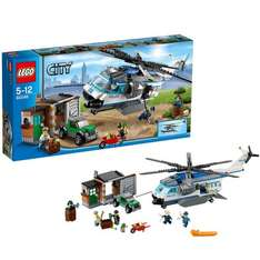 LEGO City Police 60046: Helicopter Surveillance £30 at Amazon