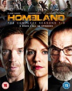 Homeland - Seasons 1-3 (Blu Ray) £29.99 Delivered @ Zavvi (£26.99 With Code)