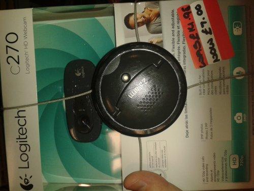 Logitec c270 HD Webcam £7 @ Asda instore