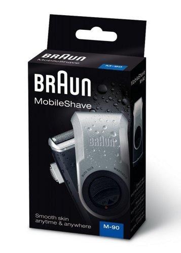 Braun MobileShave M-90 Portable Shaver £10 at Amazon