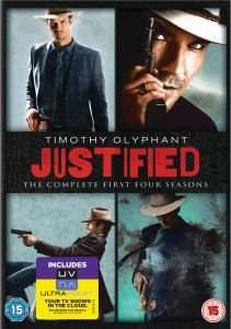 Justified Seasons 1-4 DVD £24.99 @ Zavvi