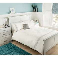 Asda George silver bling double bedding set £8.00 (reduced from £25) @ Asda direct